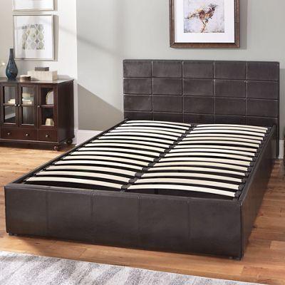 Queen Easy Lift Storage Bed