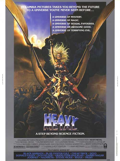 Heavy Metal Heavy Metal Movie Heavy Metal 1981 Heavy Metal