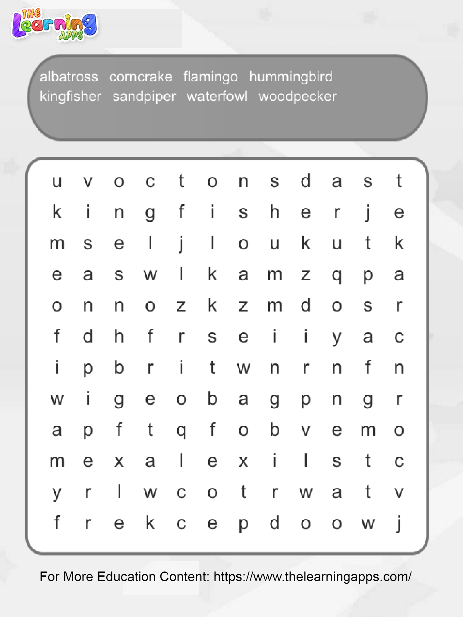 Bird Word Search Printables Free Reading Comprehension Worksheets Free Printable Word Searches Reading Comprehension Worksheets [ 2048 x 1536 Pixel ]
