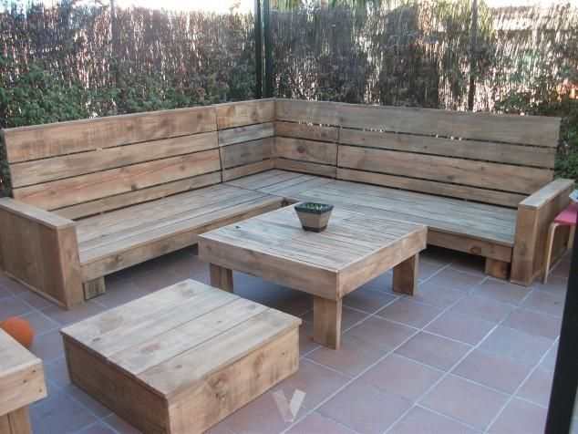 Resultado de imagen para sillon de madera reciclada for Sillones de madera reciclada