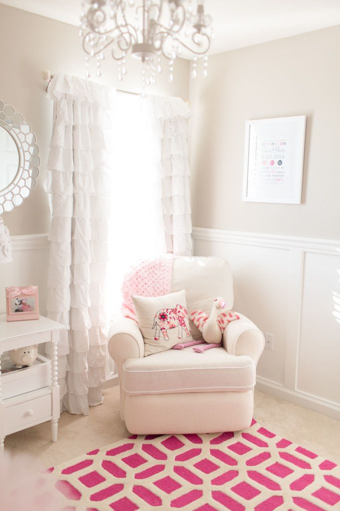 Remi's Girly Nursery Girl room, Baby room neutral
