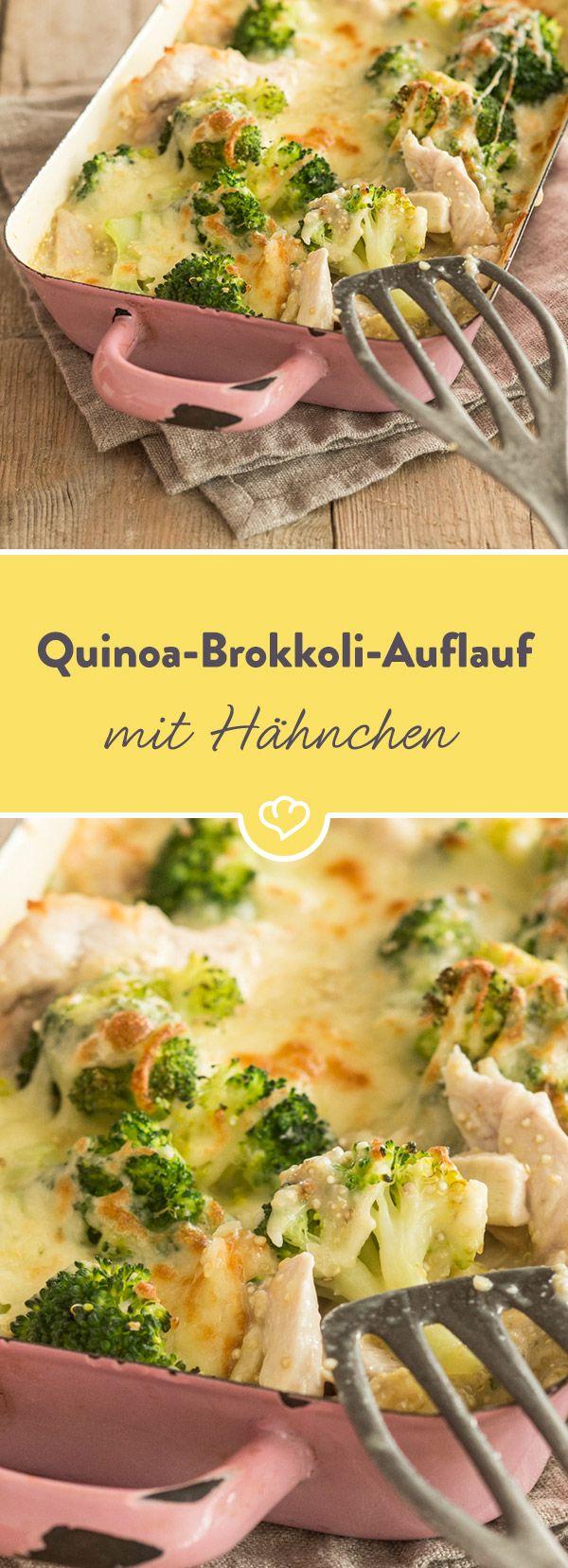 Photo of Chicken and Quinoa broccoli casserole