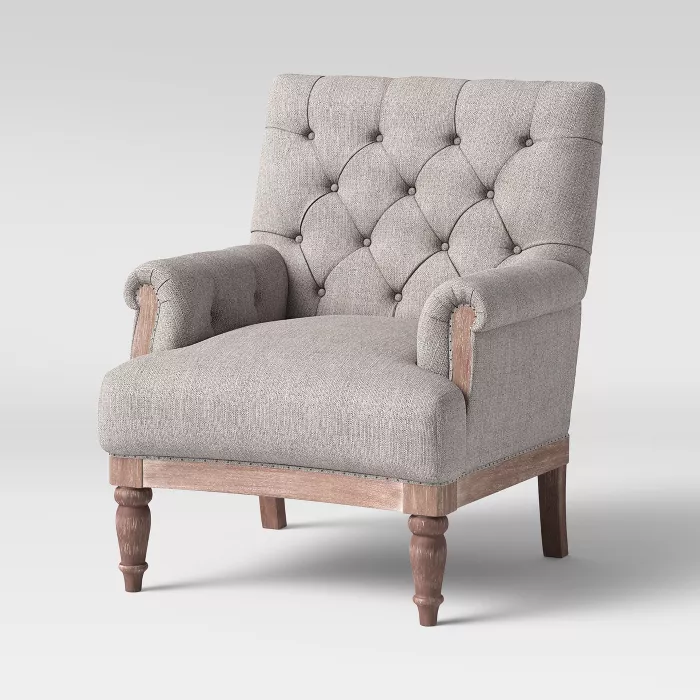 Alford Rolled Arm Tufted Chair Threshold Target Tufted