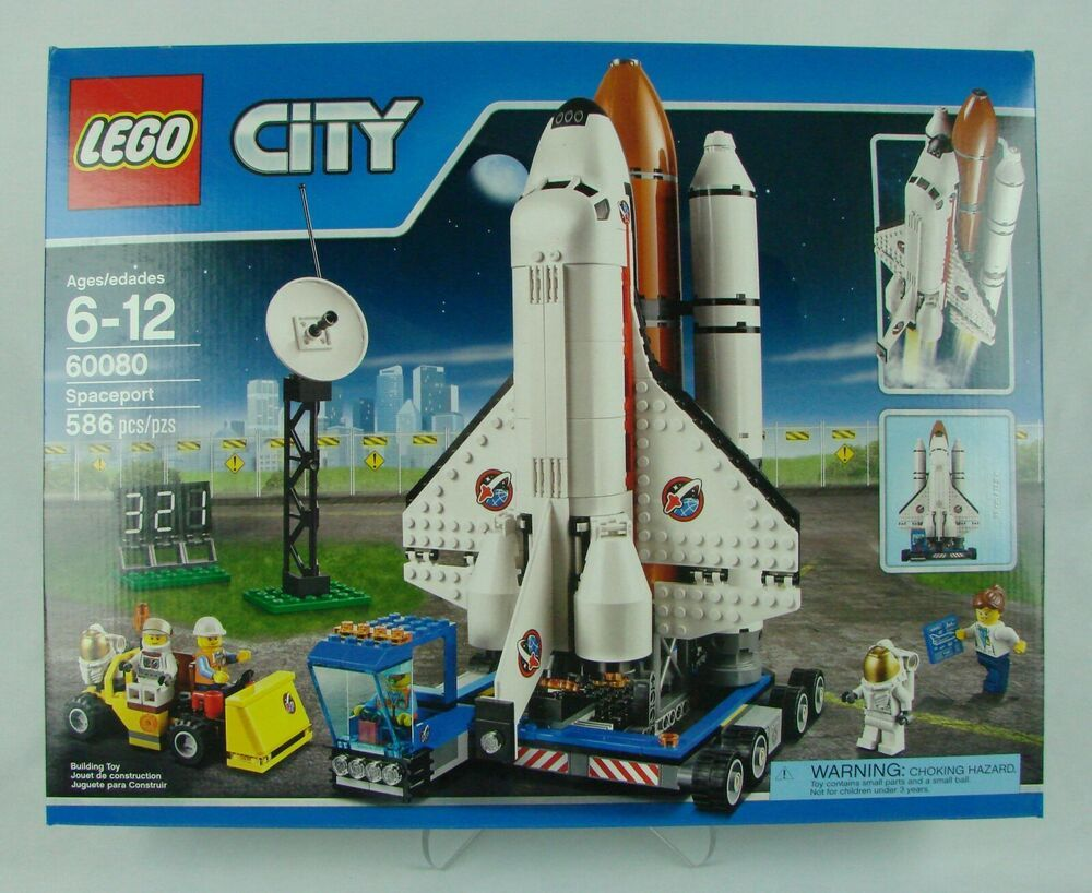 Details About Lego City Space 60080 Spaceport 2015 586 Pcs New In Sealed Box Affen Fee