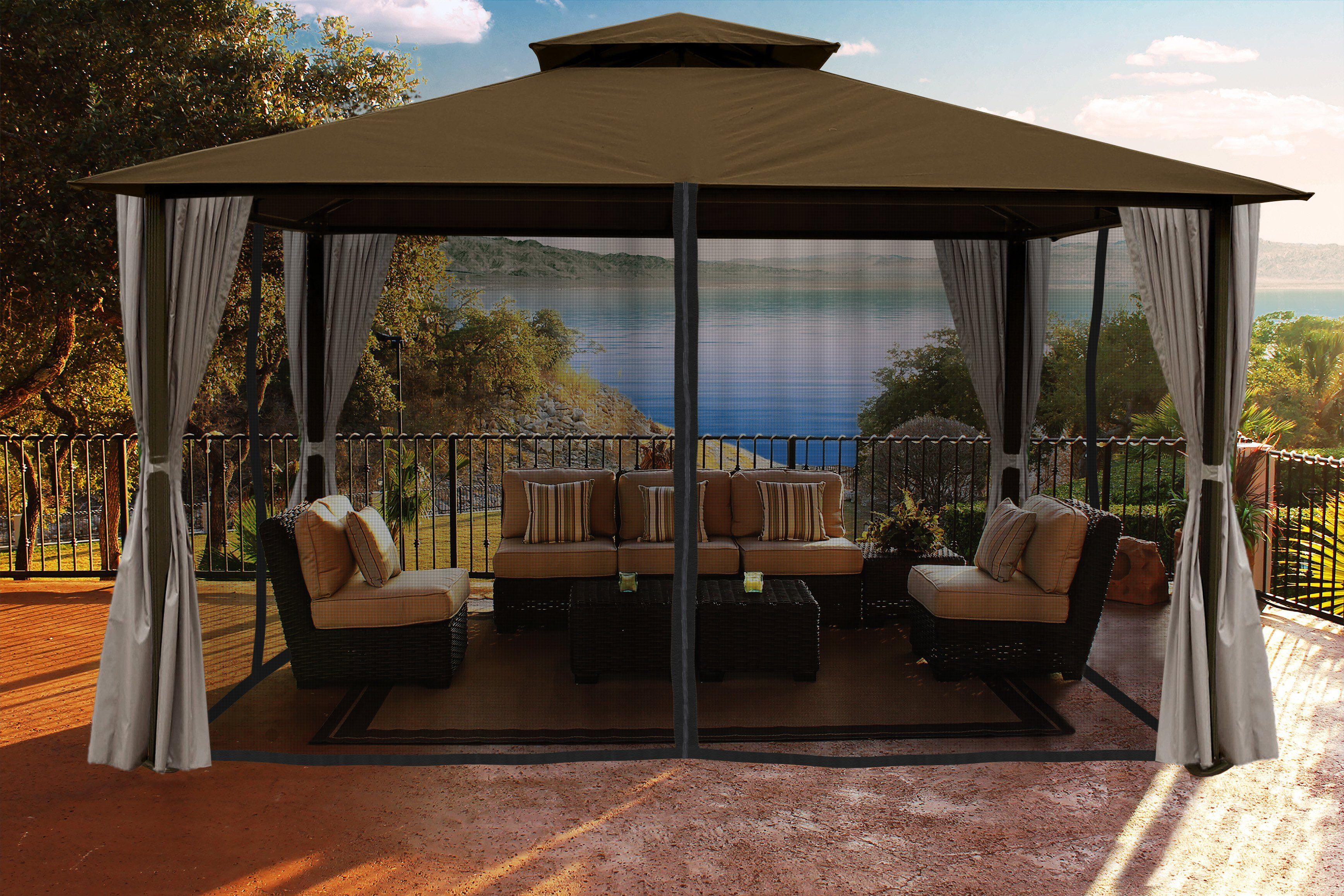 Gazebo Penguin Solarium Sunroom Kit The Better Backyard Patio Modern Pergola