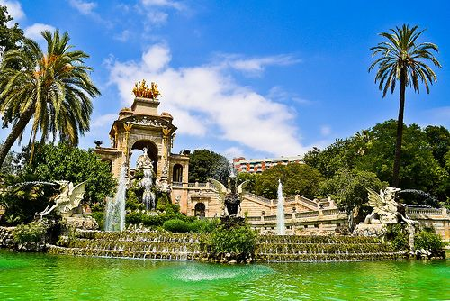 Parc de la Ciutadella, Barcelona, Catalonia