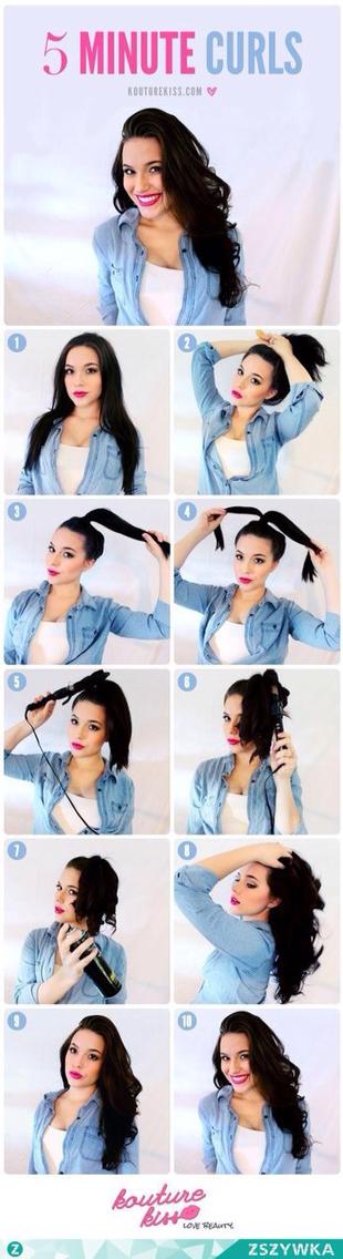 5 minute curls