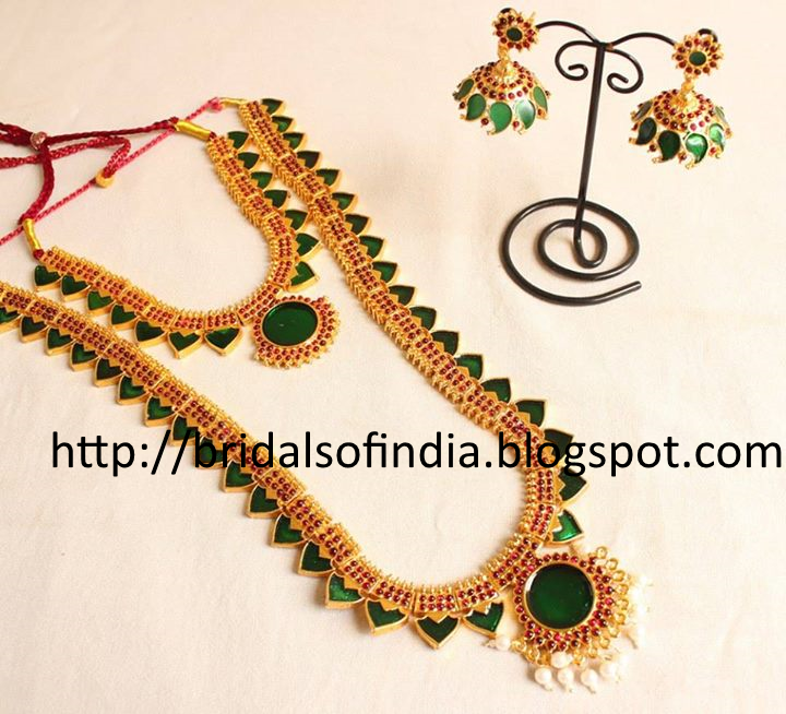 kerala traditional jewellery palakka mala - Google Search ...