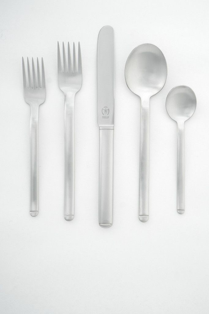 Pott 33 Flatware - It was the five-tined fork that charmed & caught our attention.