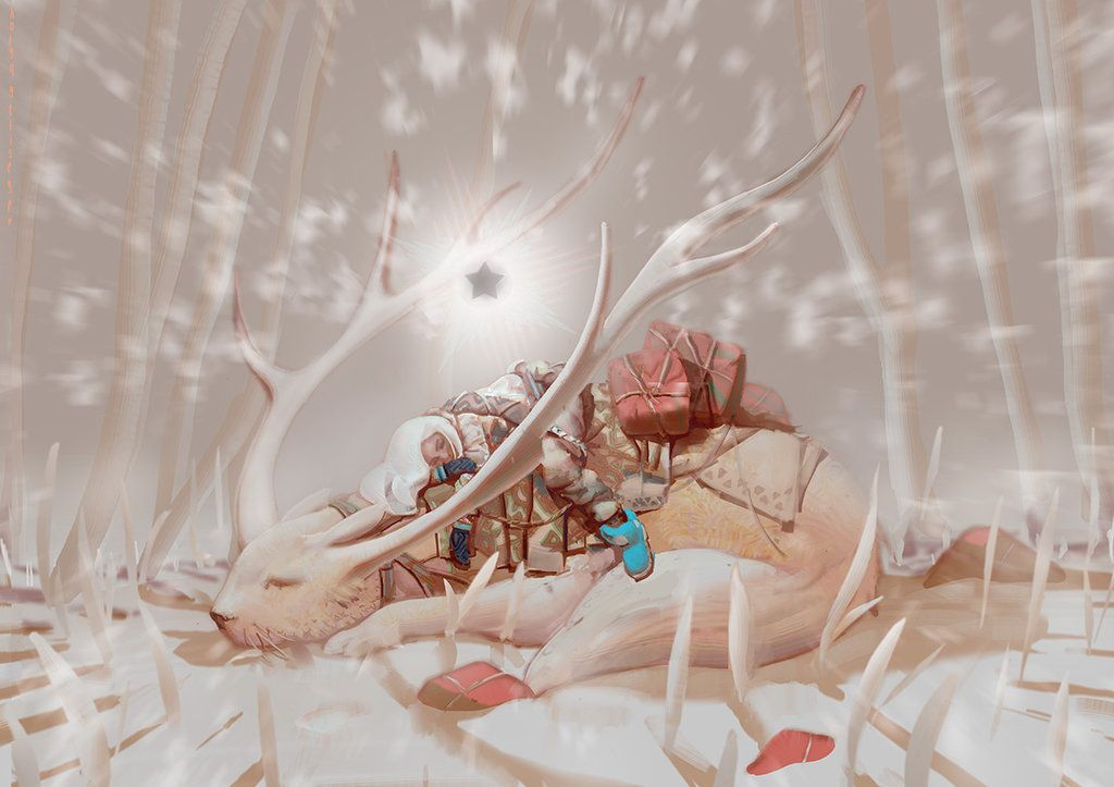 White wood by NikYeliseyev