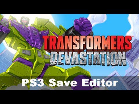 PS3] Transformers: Devastation *Save Editor* | PS3