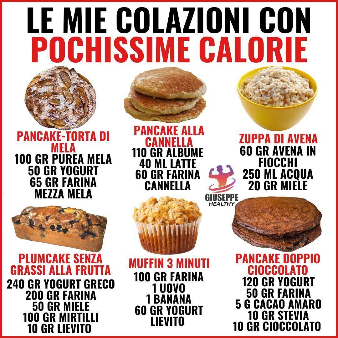 mangiare con poche calorie