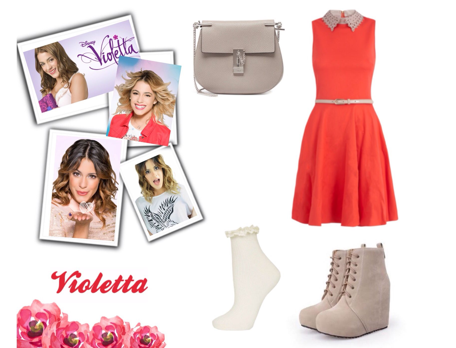 Tenue 4 Violetta Violetta Pinterest Clothes Teen Girl Fashion And Curvy Girl Style