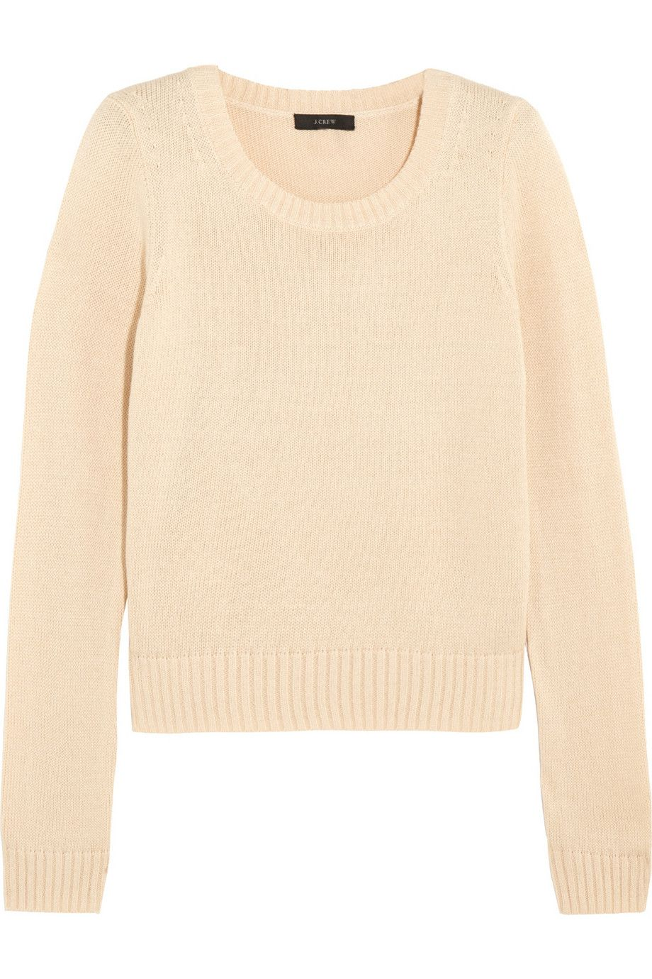 J.Crew | Cropped cotton sweater | NET-A-PORTER.COM | Stuff I ...