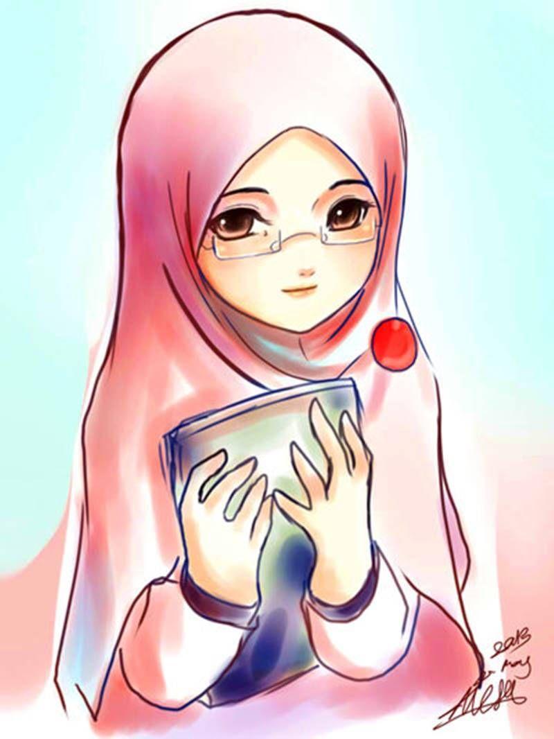 Beautiful With U R Niqab Kartun Gambar Gambar Kartun