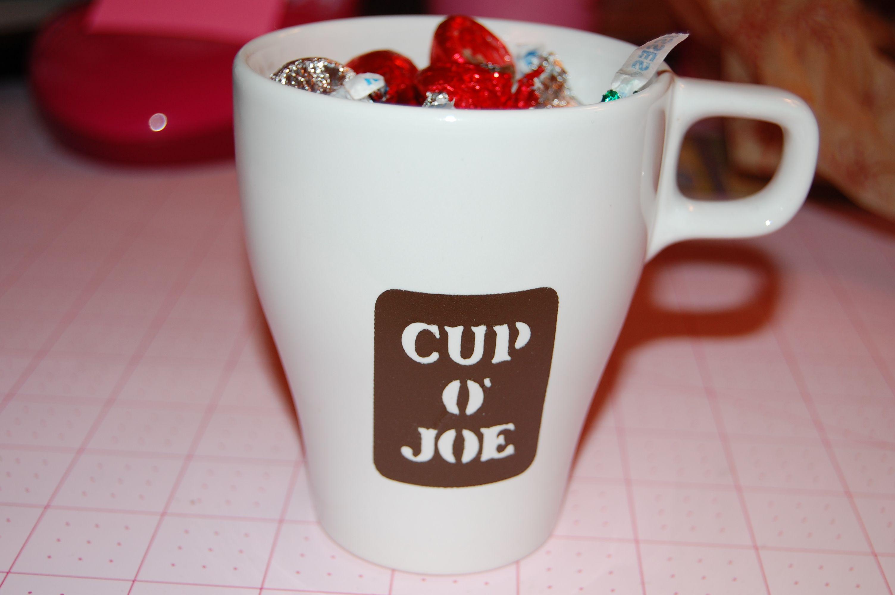 Coffee cup - Scrapbook.com