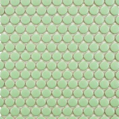 Mint Green Penny Tile Textiles Tiles And Paint Pinterest