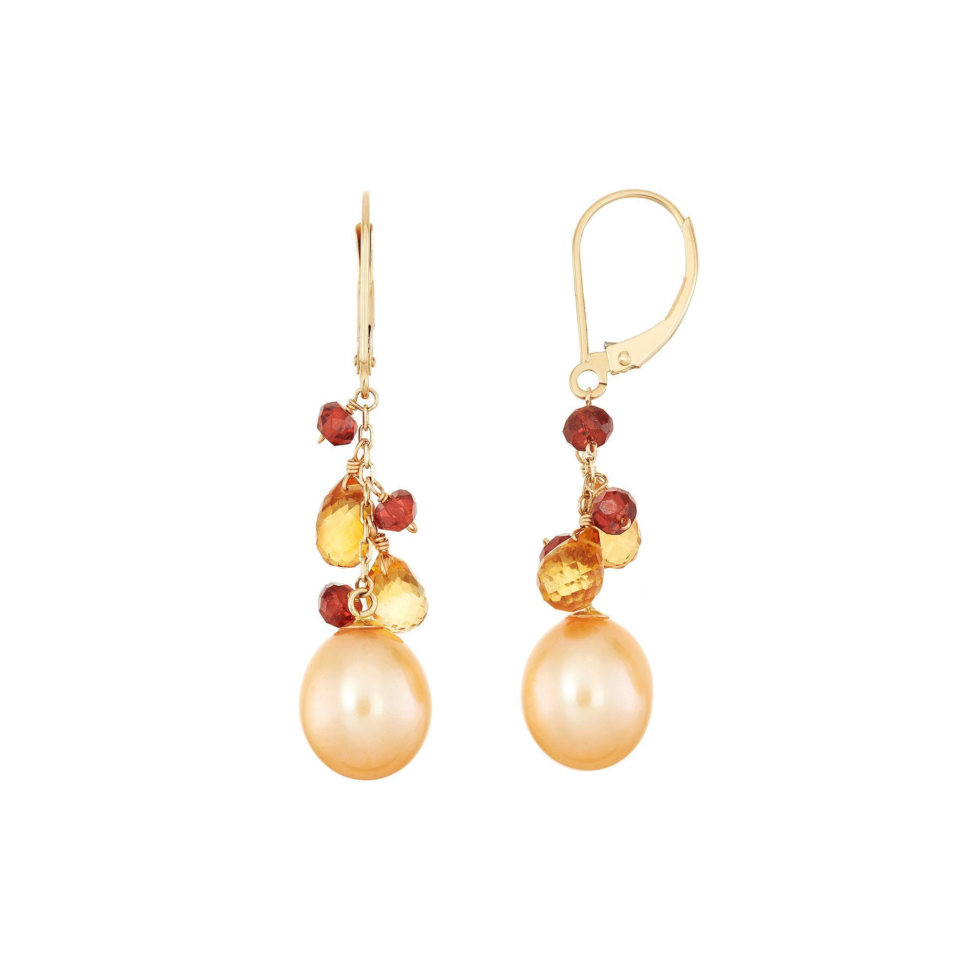 gemstone rosa viola dorata pin orecchini lesjoliesdepanpan earrings catena con e di chandelier multicolor su nappina agata lunghi