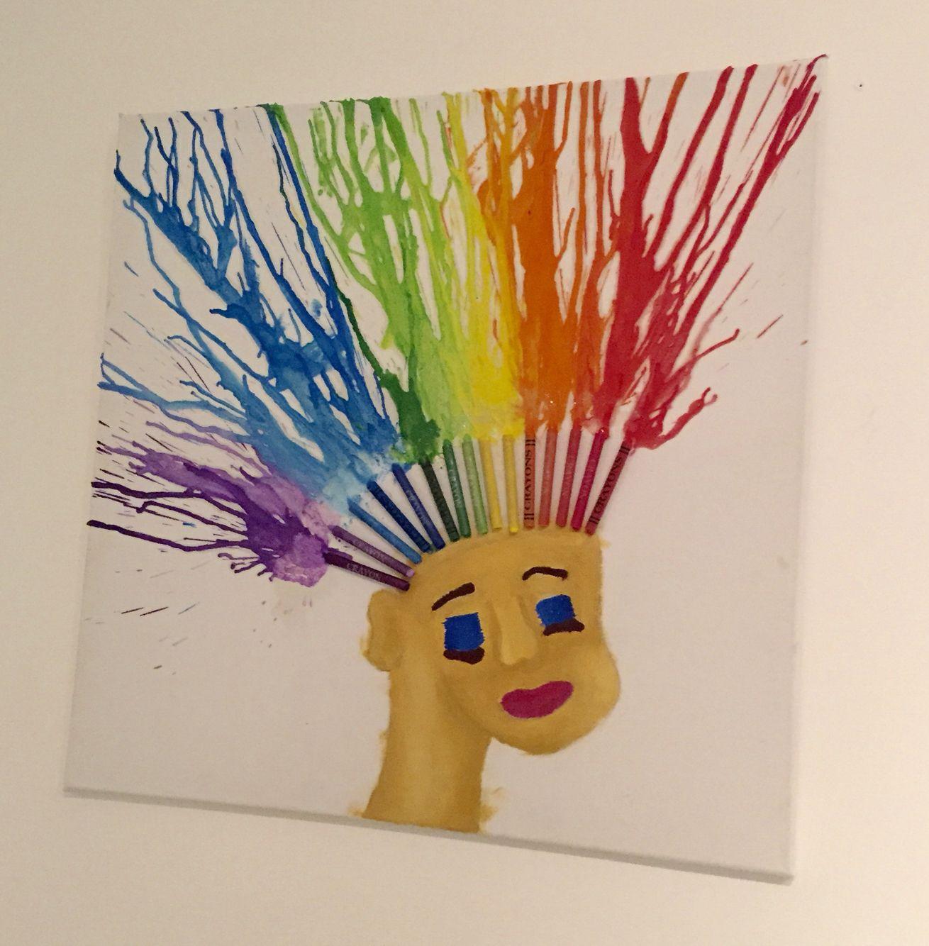 My crayon art