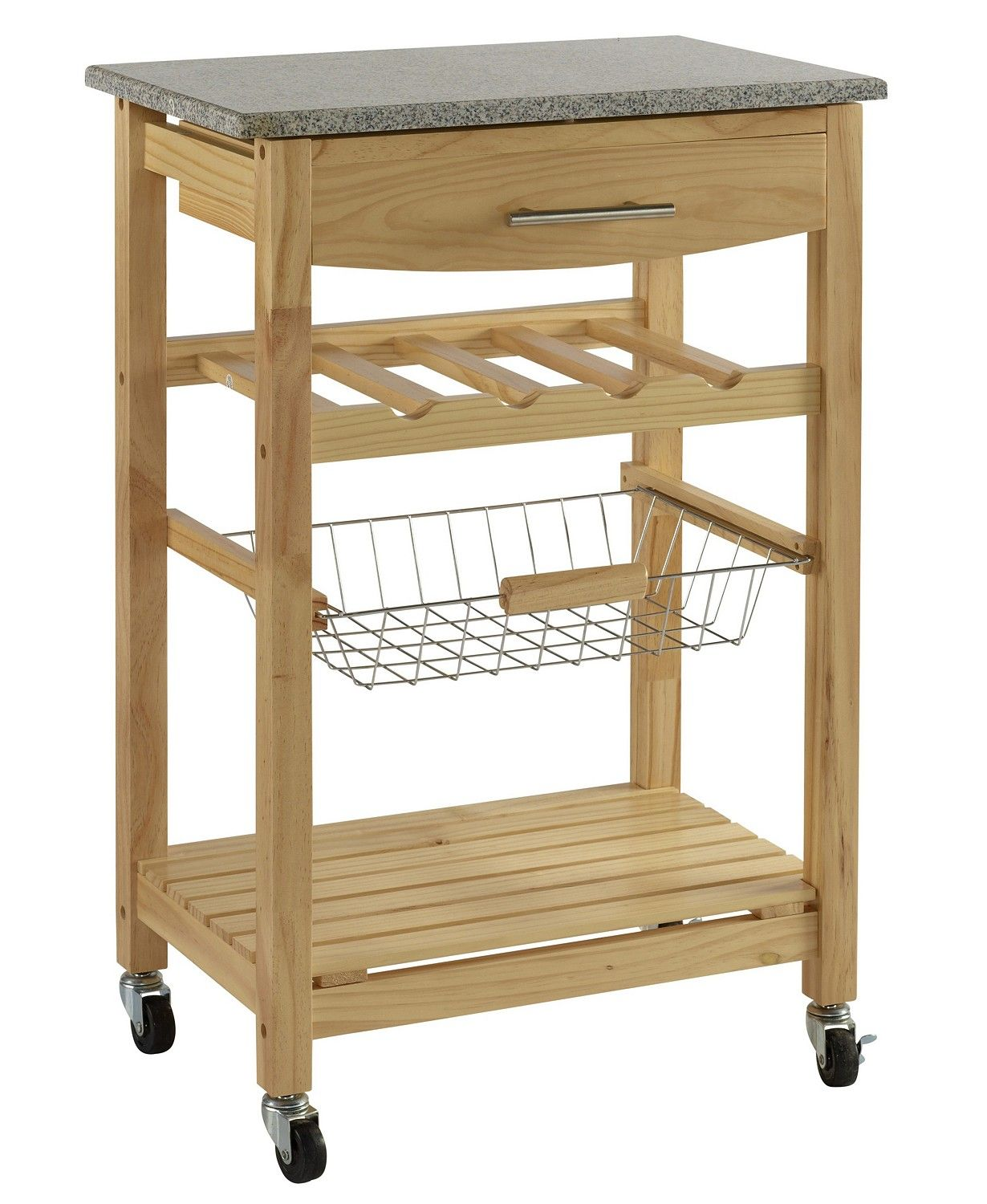 Linon Home Décor Kitchen Island with Granite Top & Reviews - Home