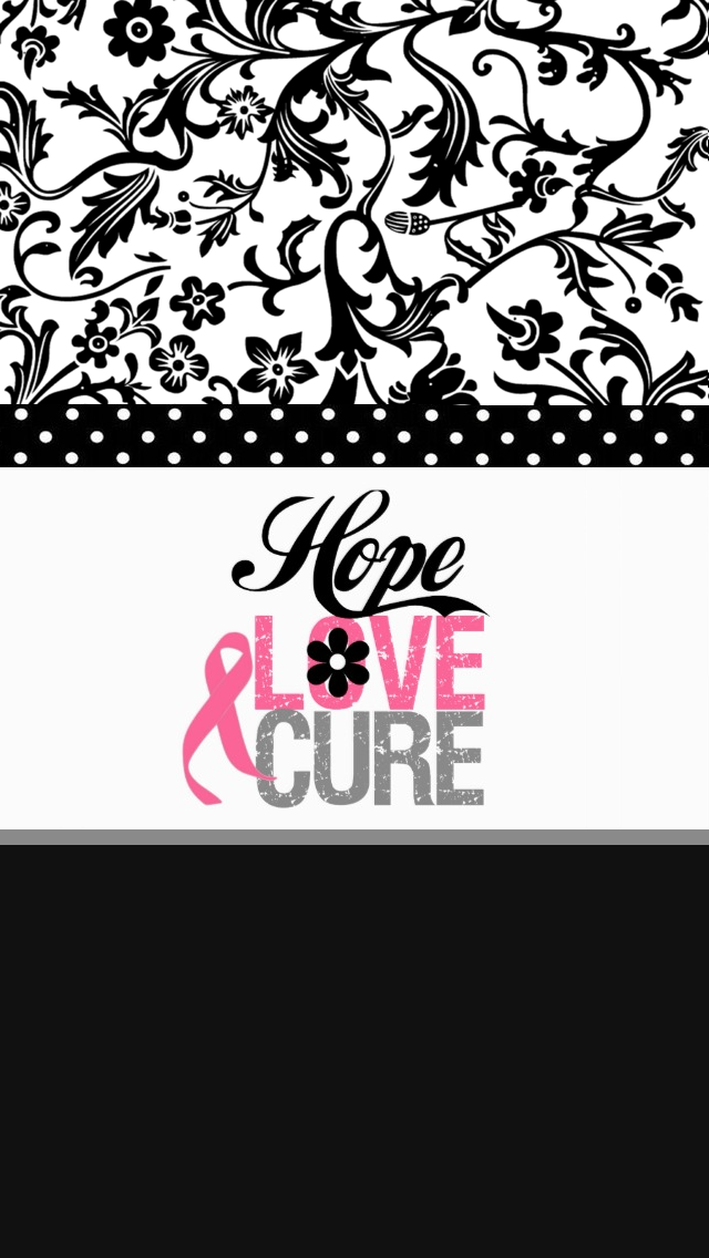 Phone Backgrounds Wallpaper Desktop Wallpapers Pink Cellphone Ribbons Breast Cancer Bows Awareness