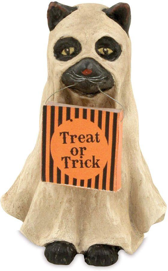 Bethany Lowe Ghost Cat Halloween Decoration Halloween Pinterest
