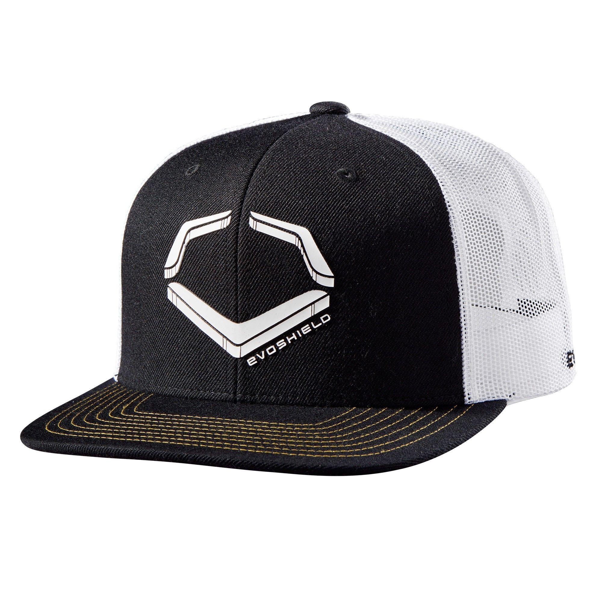 724ccd00 Evoshield Crunch Snapback Baseball/Softball Hat - Black/White in ...