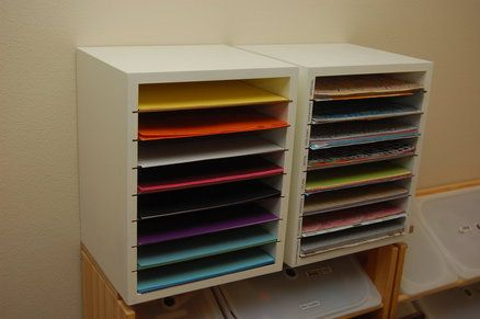 Diy Craft Paper Storage