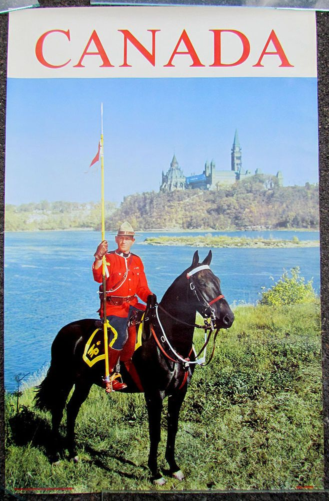 Printed in Canada. eBay! Posters canada, Vintage