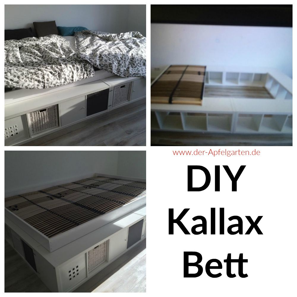 kallax diy pinterest bett familienbett und schlafzimmer. Black Bedroom Furniture Sets. Home Design Ideas