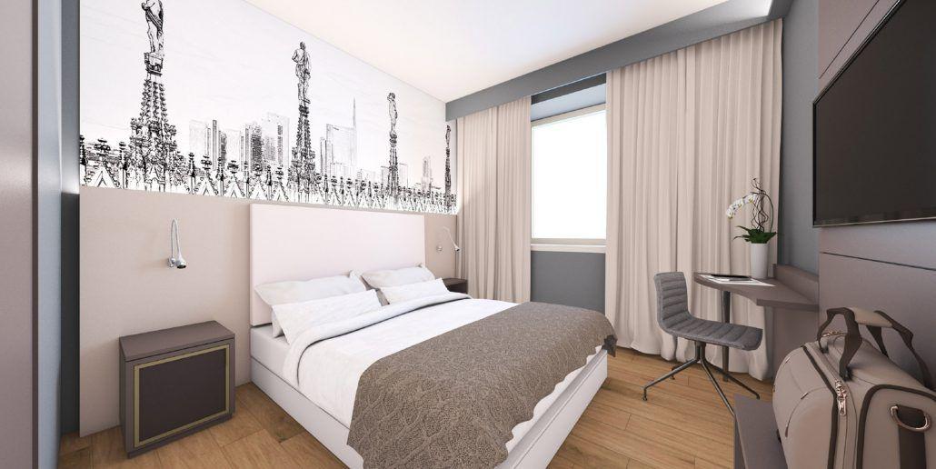 Il Viaggiatore Magazine - 43 Station Hotel - camera da letto ...