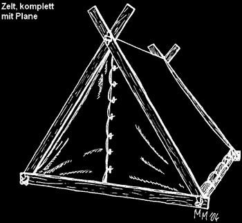 d1858665a93838 HOW TO MAKE A VIKING TENT BY YOURSELF