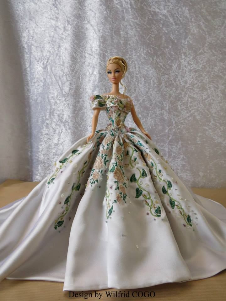 BArbie Dress by Design by Wilfrid COGO | Barbie Gowns | Pinterest ...