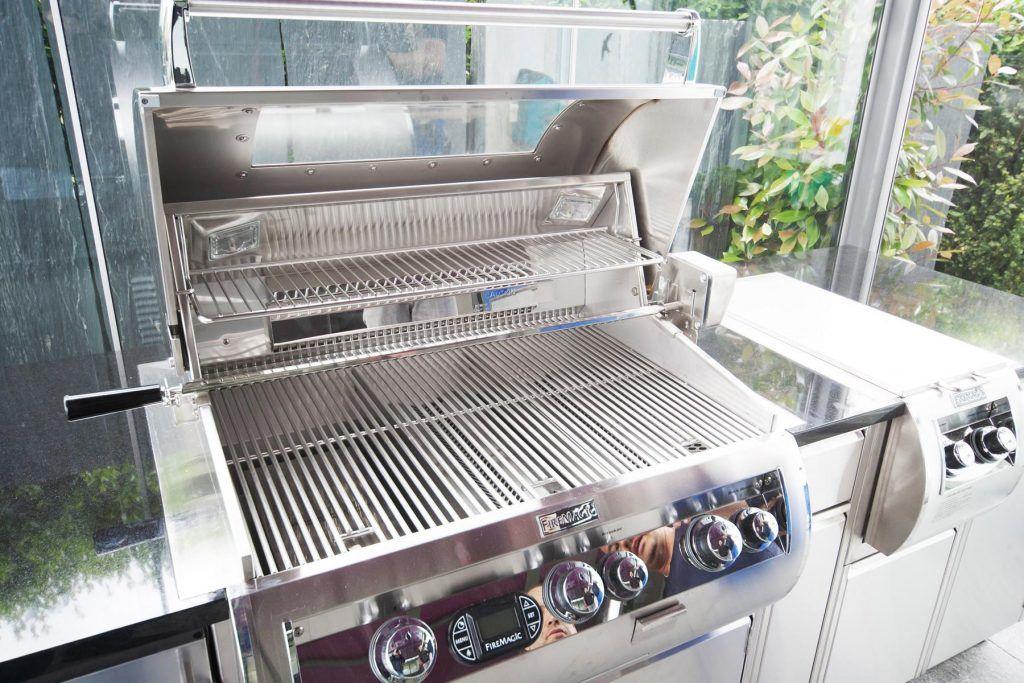 Außenküche Mit Grill : Profi gasgrill außenküche kansas pro sik profi turbo grill in