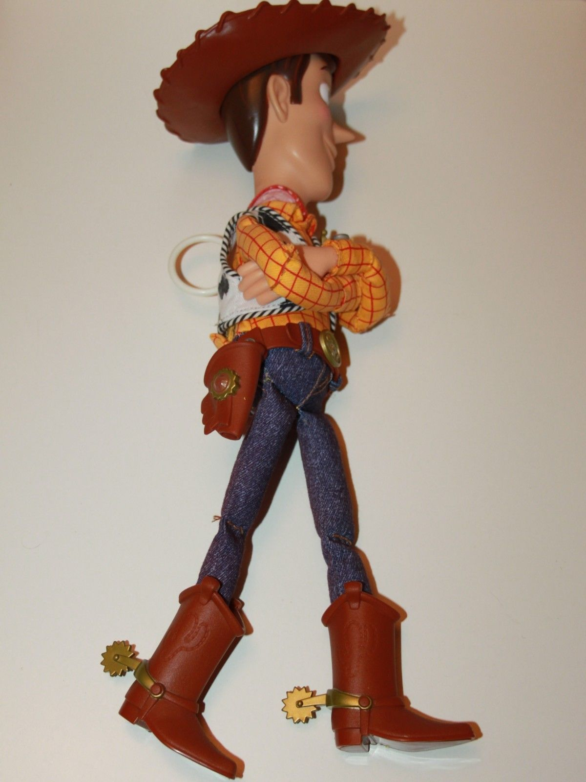 a2a4da667a4 Details about Disney Pixar Toy Story Sheriff Woody Talking Doll Pull ...