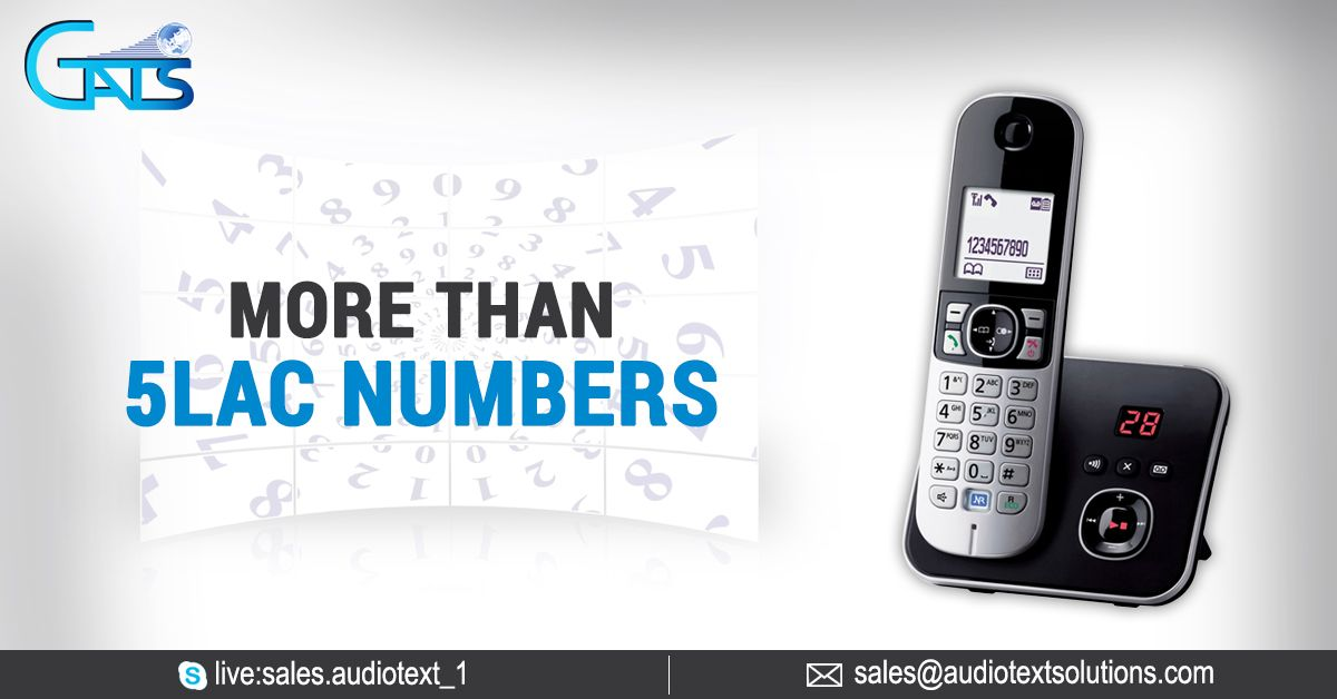 Global Audio Text Solutions has got over 5 Lac Premium