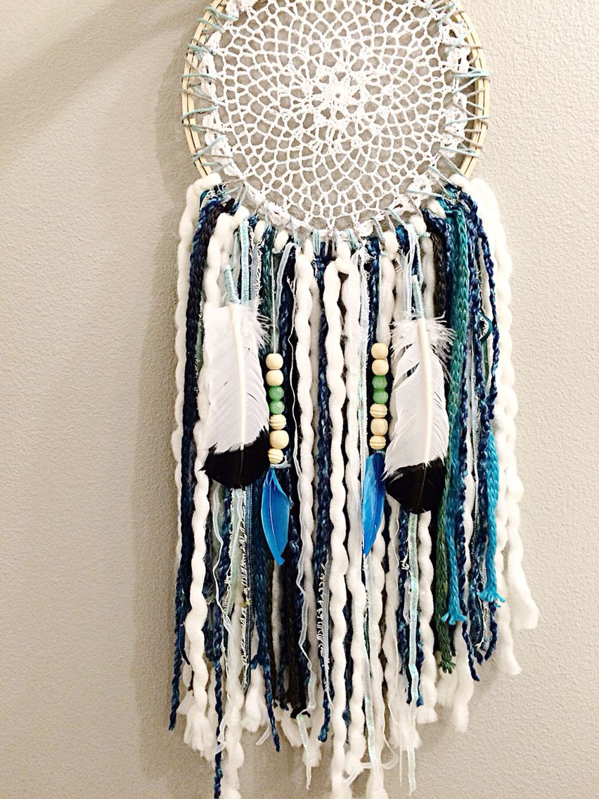 Blue lovely dream catcher !