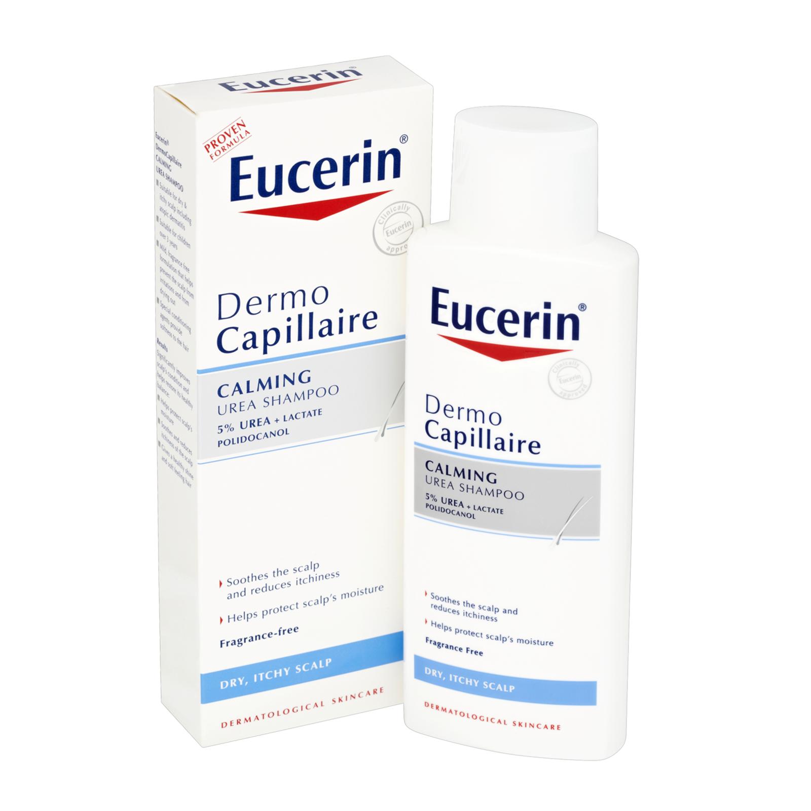 Eucerin Dermocapillaire Calming Urea Shampoo 250ml In 2021 Shampoo For Dry Scalp Shampoo For Itchy Scalp Dry Scalp Shampoo Best