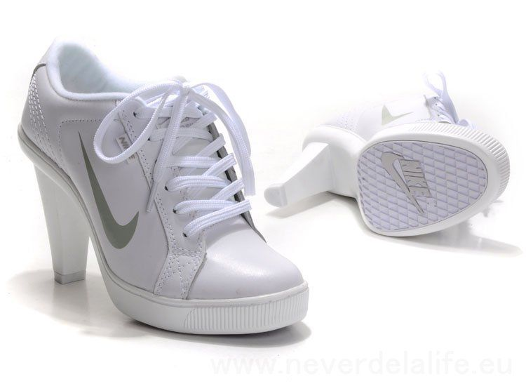 Find Nike 2012 Heels Dunk Low Womens Shoes New White Silver Cheap online or  in Lebronshoes. Shop Top Brands and the latest styles Nike 2012 Heels Dunk  Low ...