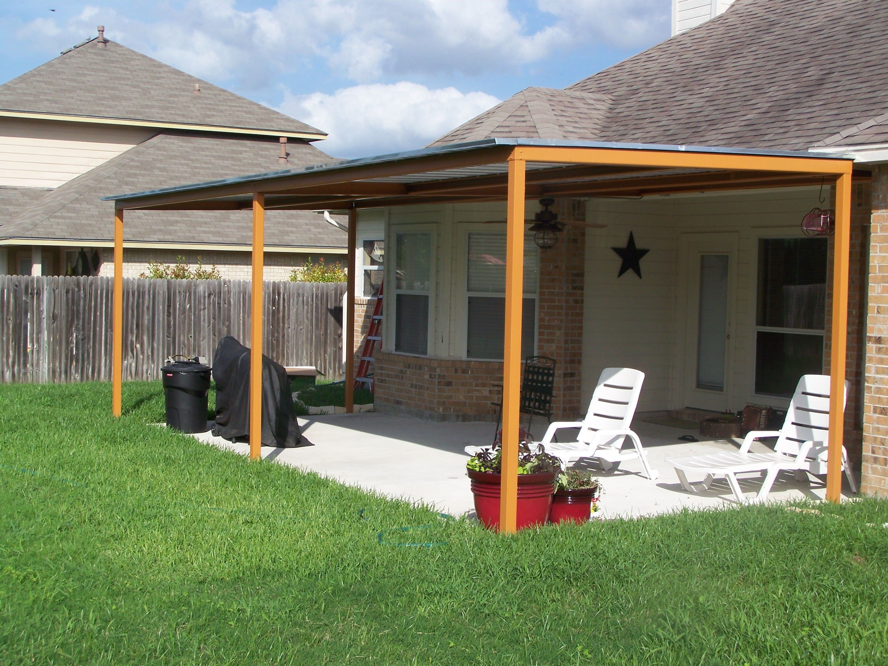 Awnings Best Deck And Patio Awning For Classic Home Design And