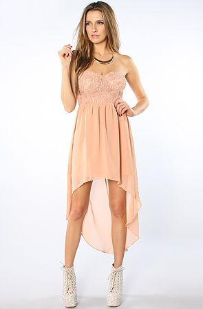 The With You Forever Rosette Sweetheart Dress in Rose In love <3