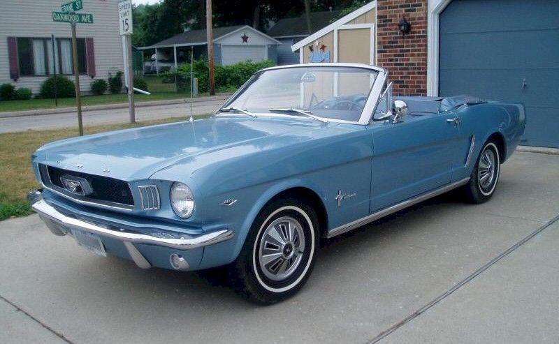 Silver Blue 1965 Ford Mustang Convertible Mustangattitude Com Mobile Autos Clasicos Autos Convertible
