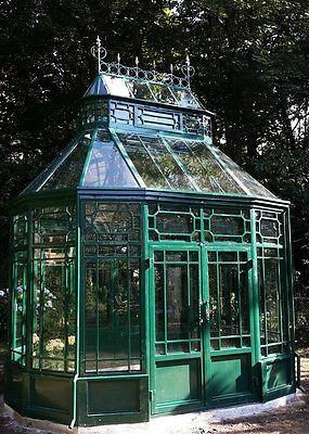 Glaspavillons der Breiten 250 bis 850 cm, oval (mit