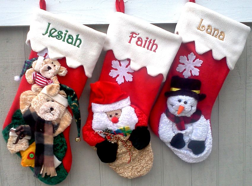Great Kids Personalized Christmas Stockings.