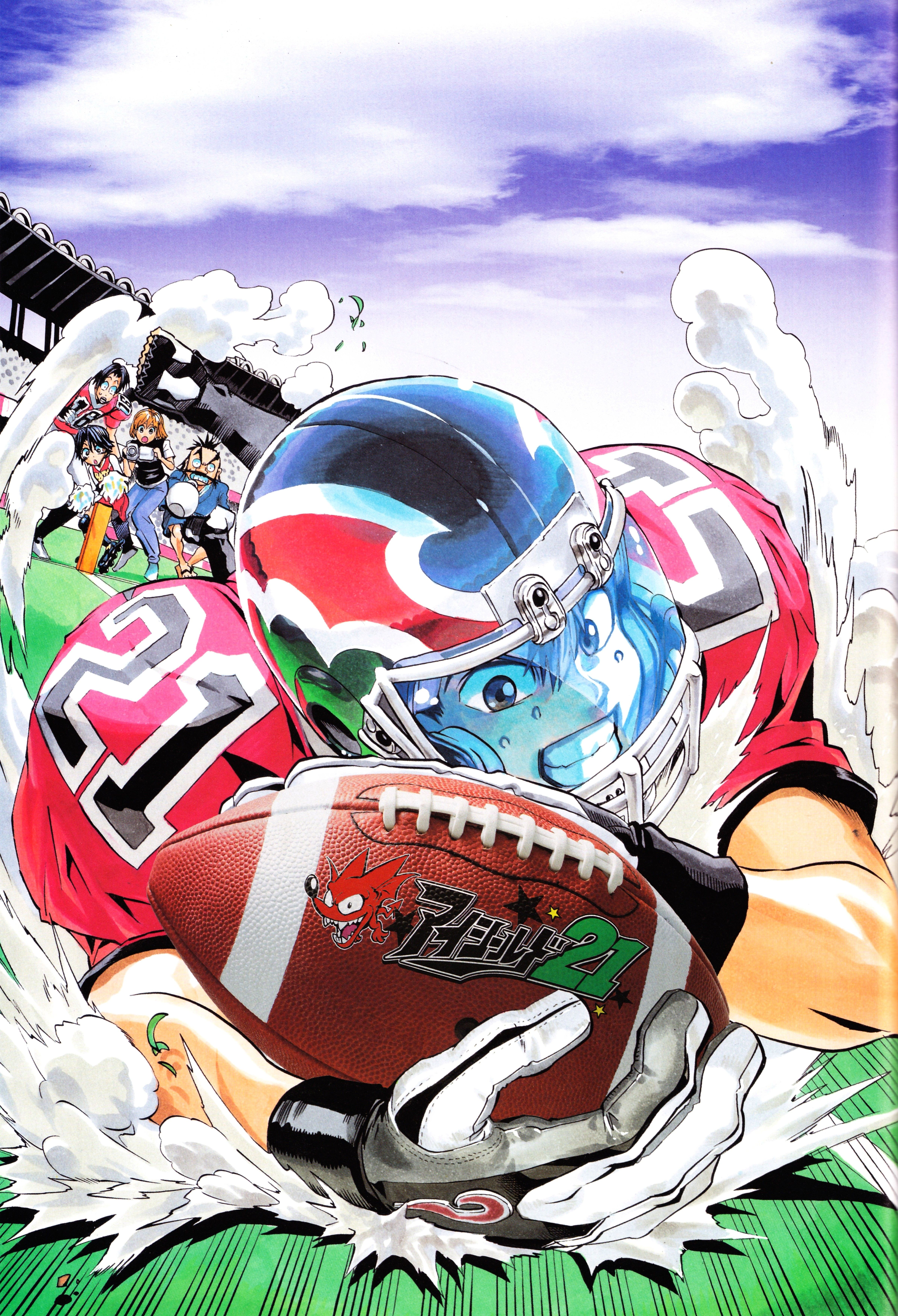 Eyeshield 21 Art, Anime images