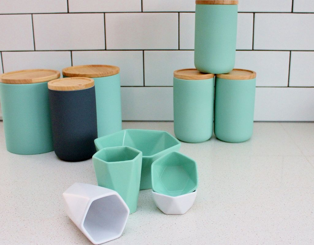 On Trend Canisters Gives Your Kitchen A New Style In Minutes Por Gift Idea