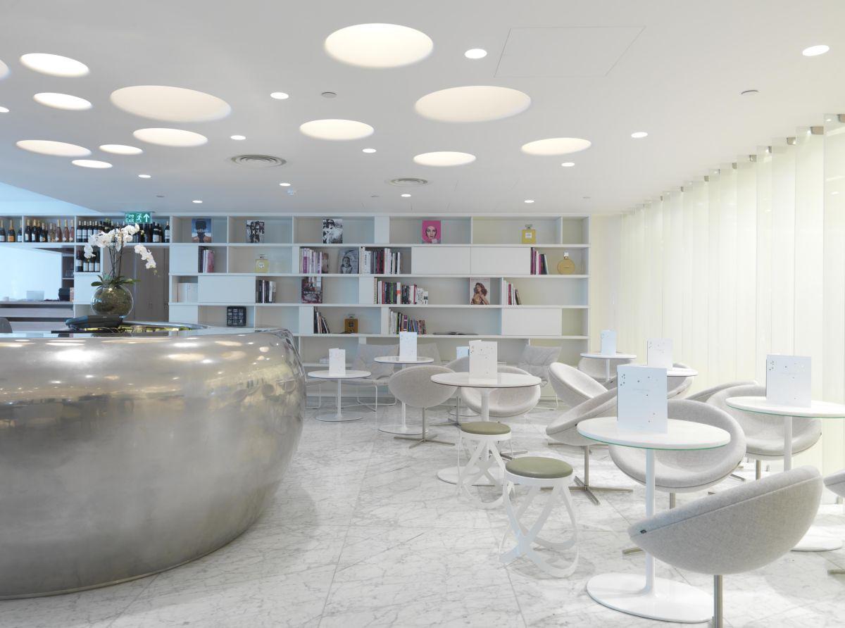 Contemporary restaurant interior design decobizz