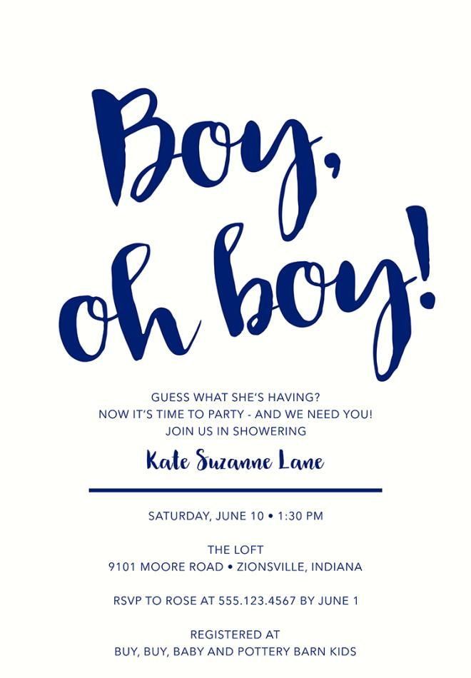 Baby Shower Invitation Wording to Welcome the Wee One Into the World ...