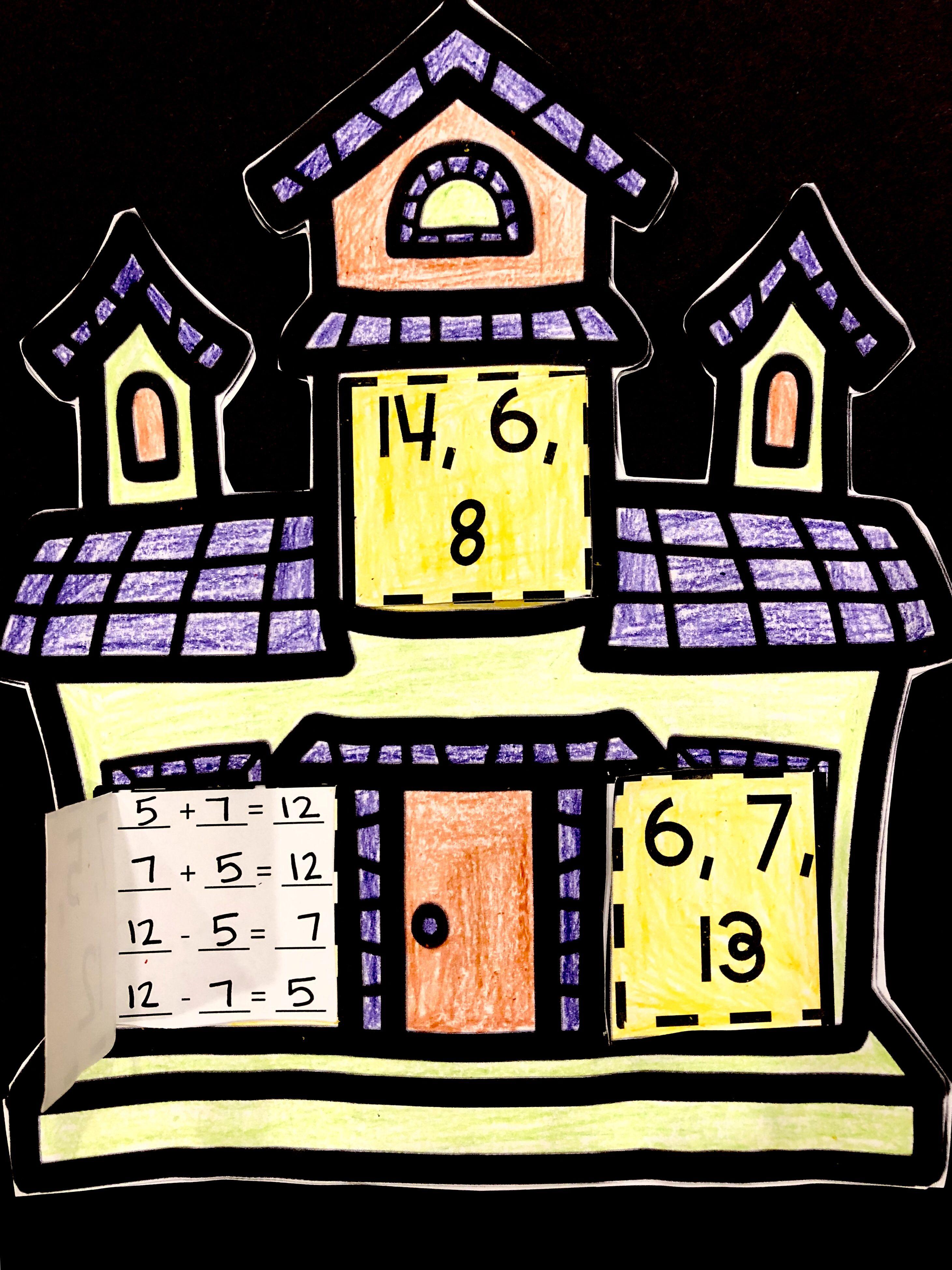 Haunted Halloween Fact Family Houses