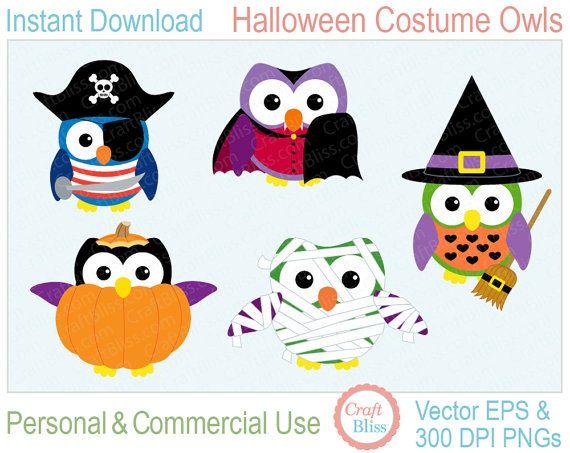 http://rosimeri.minus.com/m8xjQcUupeGHN | Halloween clips, Halloween clipart,  Owl clip art